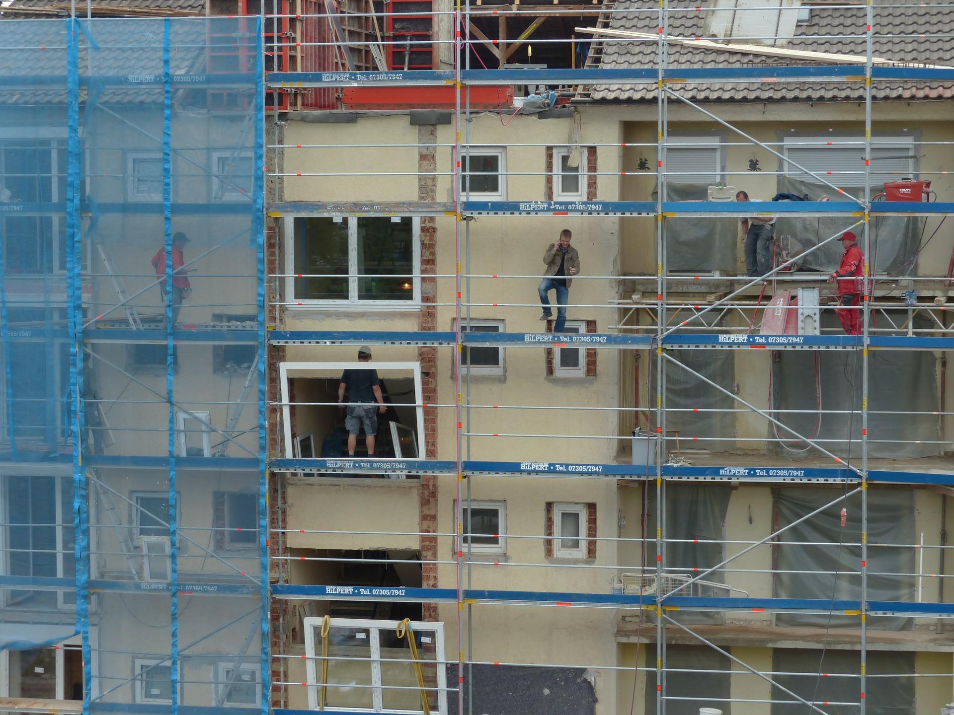 Chantiers de construction
